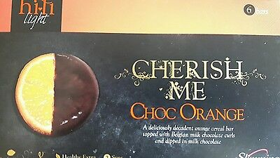 Slimming world hi fi bars chocolate orange flavour