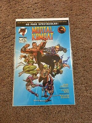 Mortal Kombat U.S. Special Forces #1 VF to NM condition