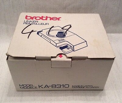 Brother Knitting Machine Linker Model KA-8310 Boxed w Instructions Casts Off