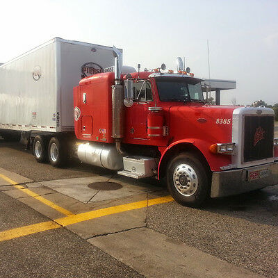 Peterbilt 379 comm with FULL 63 inch sleeper. READY TO WORK  $$$ DETROIT60!!!