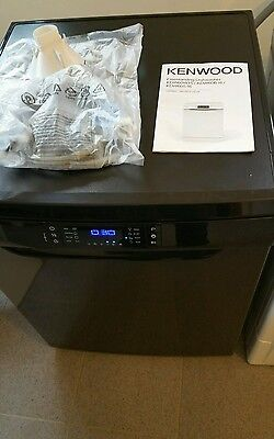 KENWOOD KDW60B16 Full-size Dishwasher - Black .ex display..free local delivery..