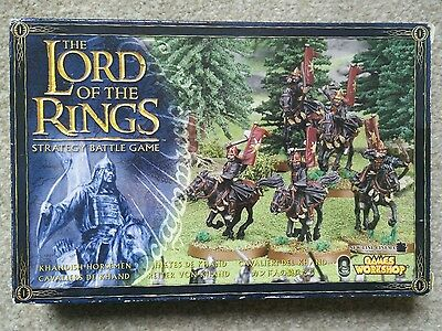 Lord of the Rings Warhammer 5 Khandish Horsemen in box