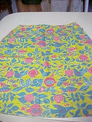 Vintage The Lilly Lilly Pulitzer Skirt Wild Bird Pattern