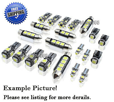 13X FOR MERCEDES Benz W211 E Class 03-09 Canbus White LED