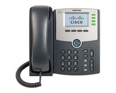 NEW CISCO SPA504G 4 LINE IP PHONE WITH DISPLAY , POE AND PC PORT....f.