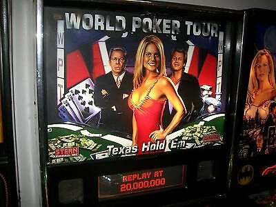 World Poker Tour  Pinball Machine In Good Working  Condition Only $5500
