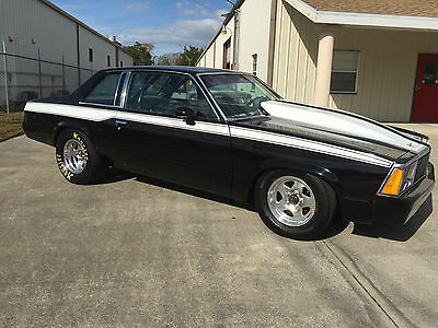 "1980 Chevy Malibu Drag Race Car - 400 SBC, Glide w/Brake, 9"" Rear, Roll Bar!!"