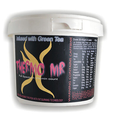Thermo X MR- Meal Replacement Weight Loss Shake 1kg Highest Quality-Chocolate