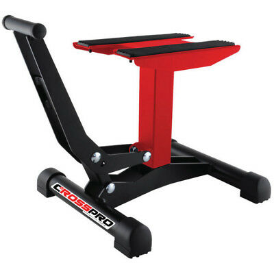CrossPro NEW Mx Xtreme DTC Red Motocross Dirt Bike Motorcycle Lift Stand