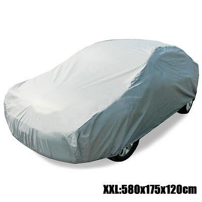 Universal Sun UV Resistant Full Car Cover Anti-Scratch Dust Protection Size XXL