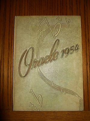 1954 Toledo, Oh Whitmer High School The Oracle Student Yearbook
