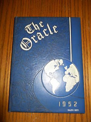 1952 Toledo Ohio John Wallace Whitmer High Schoolthe Oracle Student Yearbook