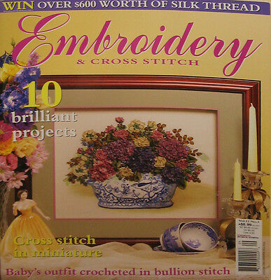 Embroidery & Cross Stitch Magazine Vol.12 No.3 - 10 projects used