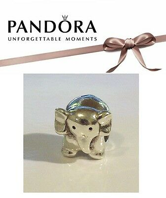Genuine RETIRED Pandora Charm – Sterling Silver 'AFRICAN ELEPHANT' 790480