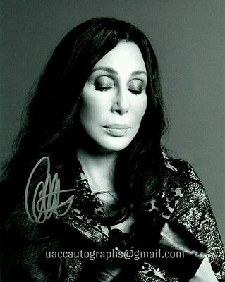Cher Hand Signed Autograph + Certificate of Authenticity COA UACC