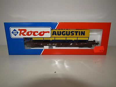 Vintage Train Roco; Freight Cars Cars HO 46372 LKW AUGUSTIN NEW CODITION!