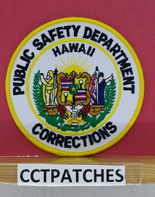 Hawaii Public Safety Department Corrections (Police) Shoulder Patch Hi
