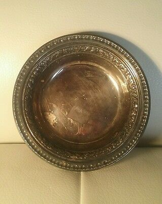 Vintage Reed & Barton Silver Plated Classic Candy Dish/Tray/Bowl