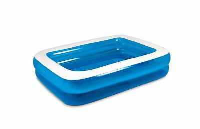 New Inflatable Rectangular Pool Swimming Float- For Family & Kids Outdoor Party