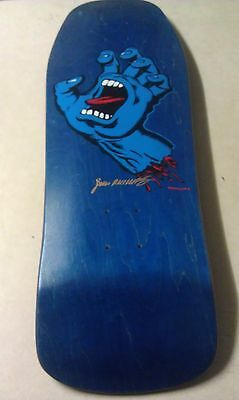 Santa Cruz Jim Phillips 30th Anniversary Signed numbered skateboard deck Limited