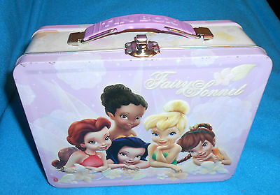Fairy Sonnet (Tinkerbell) - Tin Box Co. Lunch Box - Good Condition