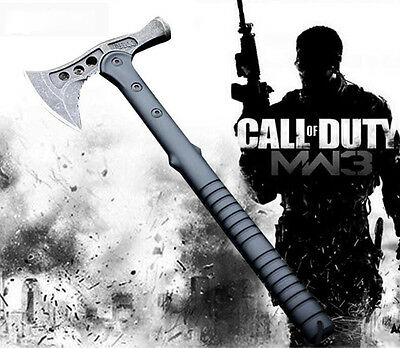 Camping Survival Tool Tactical Axe Hatchet Hammer Tomahawk Axt Hunting Knife