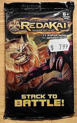 Redakai Trading Card Game TCG Booster Pack 11 X-Drive cards BRAND NEW SEALED!