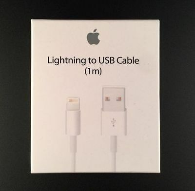 New 50x Genuine OEM 3ft Apple Charger Lightning USB Cable For iPhone 5 5S 6 6S 7