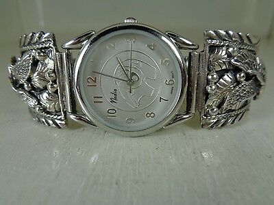 Eagle Watch Tips .925 Sterling With Watch No Stone By Ronnie Hurley - Navajo