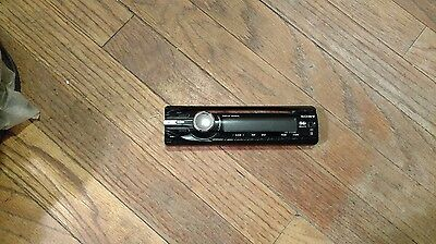 Sony CDX-GT250MP Faceplate Only- Tested Good
