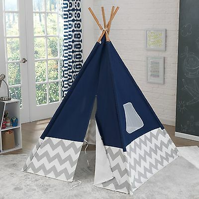 Kids Teepee Tent Play Hut Playhouse Tee Pee Outdoor Indoor Portable Childrens
