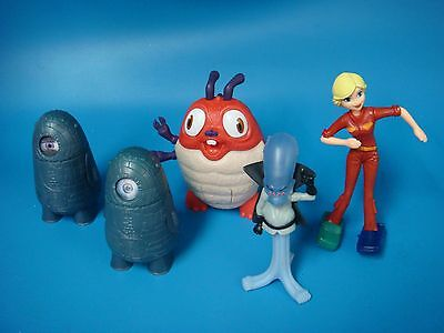 McDonald's 2009 Monsters Vs Aliens Happy Meal Toy Lot SUSAN GINORMICA GALAXHAR