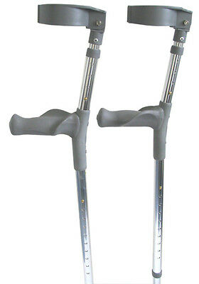 Canadian Crutches Tall with Anatomic Grip