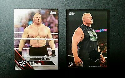WWE Topps 2016 Then Now Forever Brock Lesnar Shorts Relic  81/99