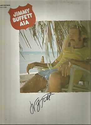 Jimmy Buffett Signed A1A Lp A Pirate Looks At Forty Stories We Could Tell Dallas