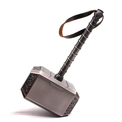 The Avengers Thor Hammer Marvel's Adult Replica Prop Model Cosplay Toy Gift