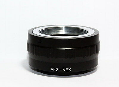 NEW Mount adapter For M42/Universal lens to SONY E-Mount digital cameras