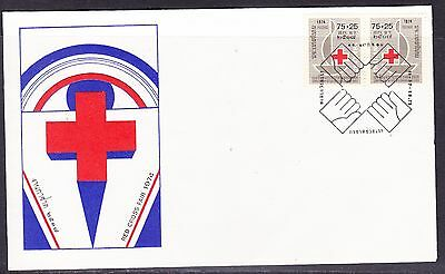Thailand 1974 Red Cross Fair #1 First Day Cover - Unaddressed