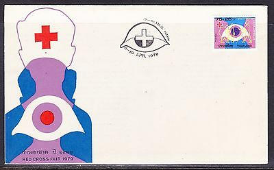 Thailand 1979 Red Cross Fair #2 First Day Cover - Unaddressed