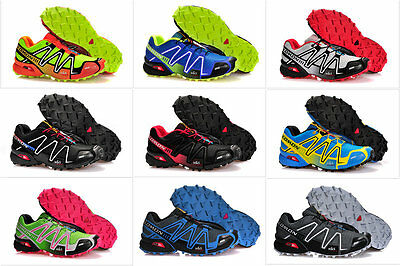 Outdoor Men's Speedcross 3 Athletic Running Hiking Sneakers Shoes 2017