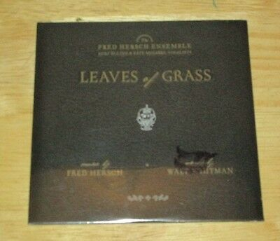 Fred Hersch Leaves of Grass Promo CD Palmetto Records 2006 20 tracks
