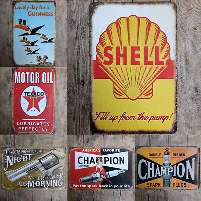 Vintage Retro Metal Tin Sign Poster Plaque Bar Pub Club Wall Home Decor 20x30cm