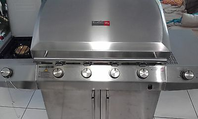 CharBroil 4 Burner BBQ Used Once