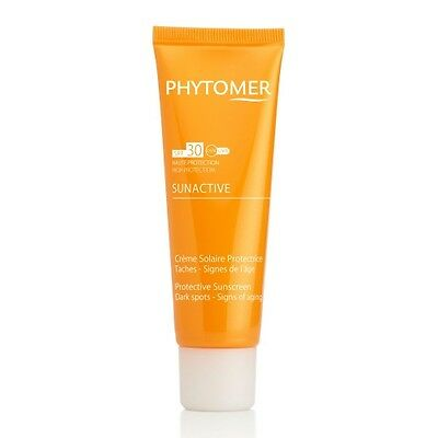 Phytomer Sunactive Crème Solaire Protectrice Taches - Signes De L'Âge Spf30 Neuf
