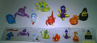 Collectibles Monsters 1 Set toy Plastic Kid'sworld Dairy4Fun Figurine surprise
