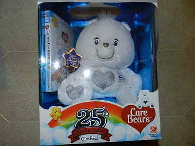 2007 25th Anniversary Care Bear Swarovski Crystal Eyes & Sterling Silver Accents