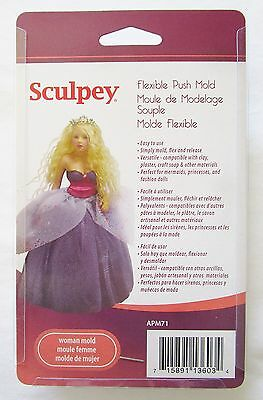 SCULPEY - Flexible Push Mold - WOMAN - SILICONE MOULD