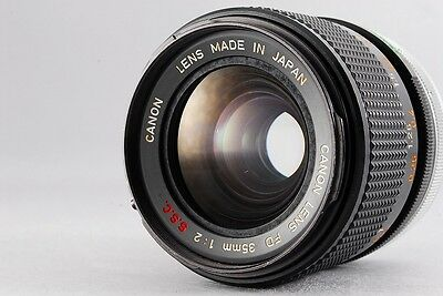 Canon FD 35mm F2 S.S.C Very Good #296 From Japan