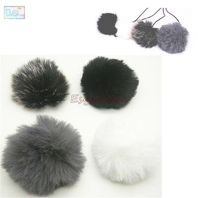 1cm Outdoor Furry Cover Windscreen Windshield For BOYA BY-M40D BY-M1 Microphone