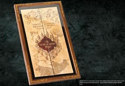 Harry Potter : MARAUDER'S MAP & DISPLAY CASE Noble Collection NOB7882 & 7888